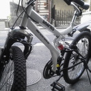 GRAPHIS マウンテンバイク。 新古車です。