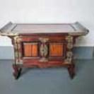 韓国風アンティーク家具 カラー:焦げ茶色