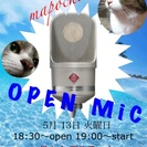 まぽちょびオープンマイク(誰でも飛び入り)Live!