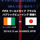 W杯観戦PV~日本代表 vs コートジボワール代表~
