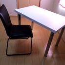 フリーテーブル&椅子 引っ越しのためもらってくれる方を探しています。
