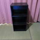 カラーボックス 黒