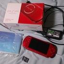 (ジャンク)PSP-3000 ラディアント・レッド