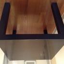 IKEA 黒 ミニテーブル 300円