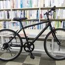 [386]クロスバイク 26インチ 6段変速 Vブレーキ ブラック