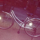 一ヶ月前に購入した自転車4000円