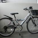 子供用クロスバイク 24インチ オートライト パナソニック製 メタ...