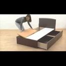 交渉中 ニトリ収納付き シングルベッド