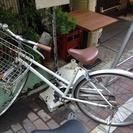 交渉完了【無料】中古 自転車差し上げます。