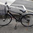 ★自転車 黒 変速可能★