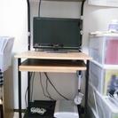 PCデスク(机)もらってください。