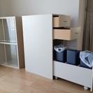 【決定】3分別ゴミ箱付キッチン棚