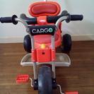 【終了】【値下げ】アイデス株式会社 カーゴ三輪車 殆ど未使用 赤