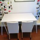 テーブル & 椅子4個 セット