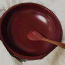 ↓ 漆器の多用鉢・新品