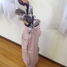 女性用ゴルフクラブセット、決まりました。