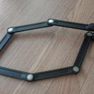 自転車用 鍵 ABUS Bordo Lite 6050 黒