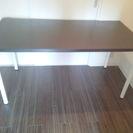 IKEAテーブル 幅150㎝ 奥行75㎝ 高さ75㎝