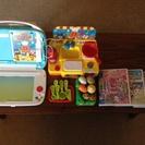 知育玩具Beena本体&アンパンマンでお料理作っちゃお&カセットの画像