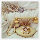 クラッシックな電話機
