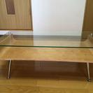 【受付締め切ります】【美品・無料】 ガラス板 ローテーブル