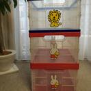 【交渉成立】ミッフィーおもちゃ箱×3個