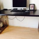 商談中 【IKEA】ブラックテーブル
