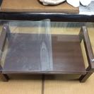 ガラス天板ローテブル(センターテーブル)