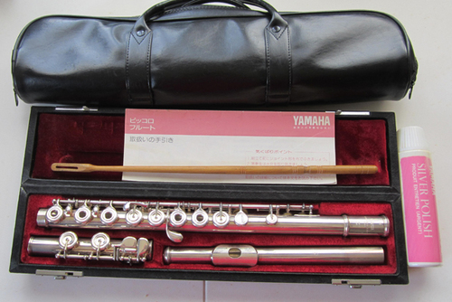 ヤマハリングキーFluteモデル581頭管部・本体シルバー、キーは洋銀シルバーメッキ (浅田信男) 伊勢原の管楽器、笛、ハーモニカの中古あげます・譲ります|ジモティーで不用品の処分