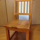 交渉中+木製+椅子