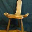 木製アジアン椅子  イス
