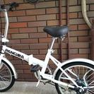 【PANGAEA】折りたたみ自転車