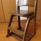 交渉中!学習椅子(くろがね工作所製)