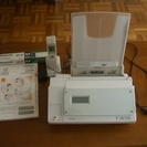 Panasonic KX-PW100CL-W 電話&fax機能
