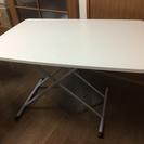 交渉中【無料】引越しのため、白テーブル差し上げます!