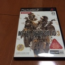 【PS2ソフト】METAL GEAR SOLID3