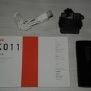 ガラケー京セラK011擦り傷あり、取説あり、予備電池、LISMO ...
