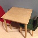 ☆★【美品】ダイニングテーブル1点 椅子2点 売ります★☆