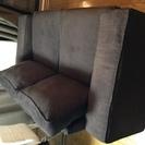 IKEAのソファ とても心地よいソファです 2人でも十分広いソファ...