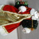 ♡クリスマス サンタクロース人形