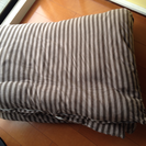 タブルサイズ掛け布団 無印良品カバー付き 1500円