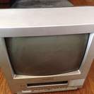 ブラウン管テレビ ビデオ 視聴可能 デッキ部分破損あり
