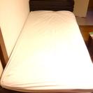 シングルベッド(マットレス付き希望の方は7000円)(10/27〜...