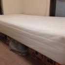 無印パイル材ベッド シングル