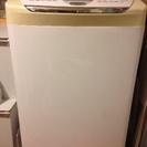 シャープ洗濯機。11月2日まで。