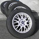 スタッドレスタイヤ+アルミホイール4本セット ヨコハマiG50 1...