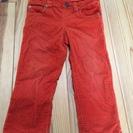 Baby GAP 95cm オレンジのズボン