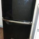 ☆三菱冷蔵庫 2ドア136L 黒 ...