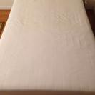 【無印良品】セミダブル 脚付きマットレスベッド
