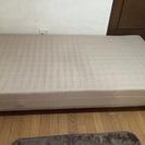 スプリング式シングルベッド